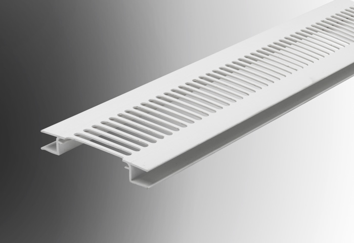 Hollow Soffit Board Ventilation Strip Geoplas Plastic